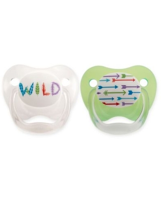 Dr Brown/'s Baby New Improved Options Prevent Infant Orthodontic Soother 2PK