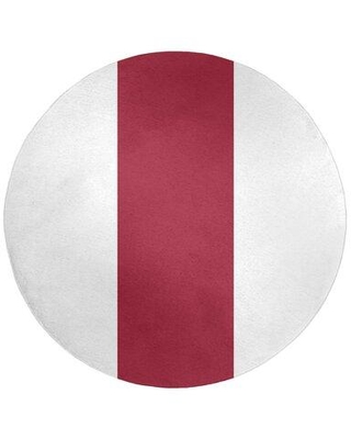 East Urban Home Red Area Rug FCMP3760 Rug Size: Rectangle 3' x 5'