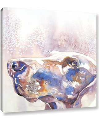 """Latitude Run Weim Painting Print on Wrapped Canvas LTRN6714 Size: 24"""" H x 24"""" W x 2"""" D"""