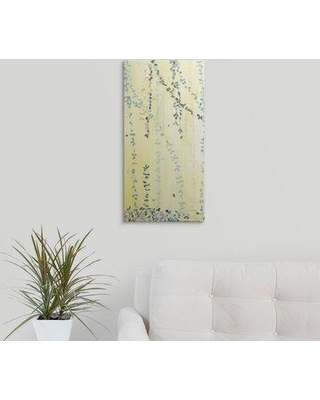"""Great Big Canvas 'Trailing Vines' Candra Boggs Graphic Art Print 1421209_1 Size: 24"""" H x 12"""" W x 1.5"""" D Format: Canvas"""
