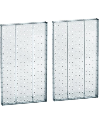 Get This Deal On Azar International 22 In H X 13 5 In W Clear Styrene Pegboard 2 Piece Per Box