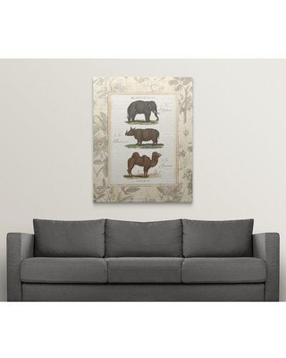 """Great Big Canvas 'African Animals II' Graphic Art Print 2036711_1 Size: 48"""" H x 38"""" W x 1.5"""" D Format: Canvas"""
