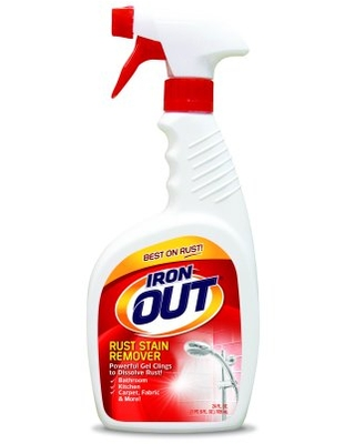 Iron OUT Rust Stain Remover Spray Gel, 24 oz.
