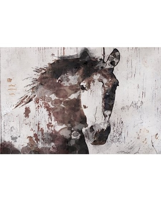 Marmont Hill Gorgeous Horse by Irena Orlov Canvas Wall Art