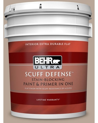 Amazing Deals On Behr Ultra 5 Gal Bxc 43 Desert Sandstorm Extra Durable Flat Interior Paint And Primer In One
