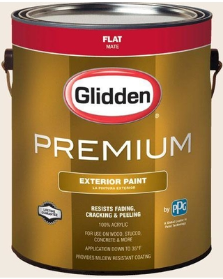 Hdgo48u Egret White Flat Latex Exterior Paint