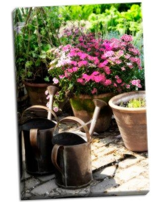August Grove 'The Garden Nook III' Photographic Print on Wrapped Canvas BI053378