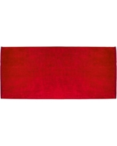 Zipcode Design Terry Velour Premium 100% Cotton Beach Towel ZPCD2801 Color: Red