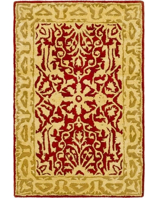 Safavieh Silk Road Maroon/Ivory (Red/Ivory) 2 ft. x 3 ft. Area Rug