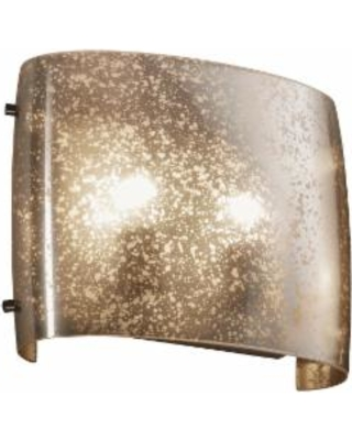 Justice Design Group Fusion 12 Inch Wall Sconce - FSN-8855-MROR-DBRZ