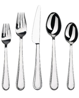 Oxford 20 Piece Flatware Set, Service for 4 Gourmet Settings
