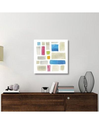 """East Urban Home 'Comares II' Graphic Art Print on Canvas UBAH5956 Size: 30"""" H x 30"""" W x 1.5"""" D"""