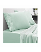 Sweet Home Collection Cal King 4-Pc Sheet Set - Mint