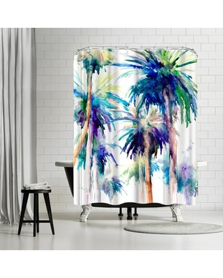 Suren Nersisyan Palm In Hollywood Single Shower Curtain East Urban Home