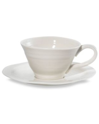 Sophie Conran for Portmeirion® Teacup and Saucer in White