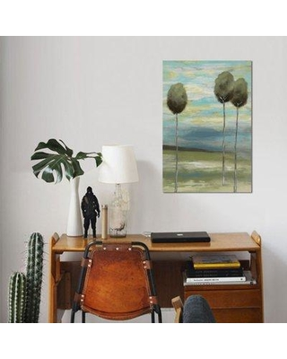 """East Urban Home 'Fantastic II' Watercolor Painting Print on Wrapped Canvas ESUH7401 Size: 40"""" H x 26"""" W x 0.75"""" D"""