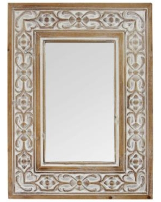 Special Prices On Hillary Wood Wall Mirror Stratton Home Decor S23768