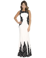 Decode 1.8 - 183973 Embroidered Fitted Jewel Evening Dress