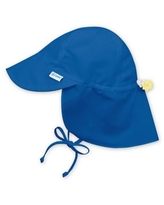 i play.® by green sprouts® Toddler Sun Flap Hat in Royal Blue