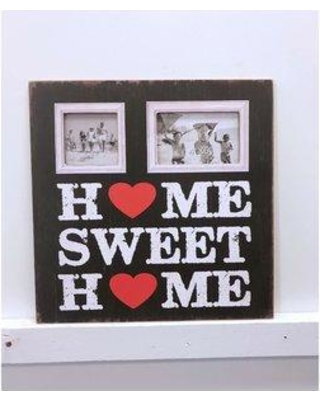 Winston Porter Bryleigh Home Sweet Home Vintage Picture Frame W000100705