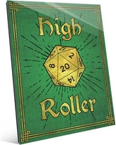 """Click Wall Art High Roller Painting Print in Emerald GRM0000129ACR Size: 24"""" H x 20"""" W x 1"""" D"""