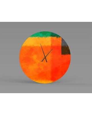 East Urban Home Chatham Wall Clock W002258616 Size: Small