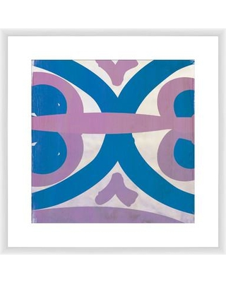 PTM Images Lavender and Teal Transitions II Framed Painting Print 1-22263