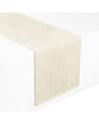 Waterford® Linens Lunar 90-Inch Table Runner in Ivory