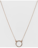 07ddfc58f0b Here's a Great Deal on Four Stones Short Necklace - A New Day Gold