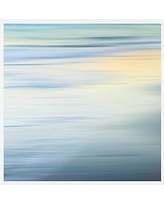 """Folly Beach by Cindy Taylor, 25 x 25"""", Wood Gallery, White, No Mat"""