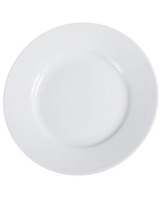 "Red Barrel Studio® Kanode 7.5"" Appetizer Plate, Ceramic/Porcelain China in White/Cream, Size 6"" to 8"" Medium 