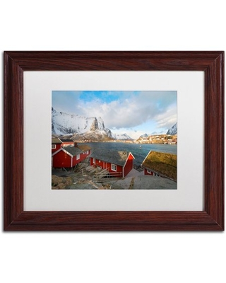 "Trademark Fine Art ""Rorbus"" Canvas Art by Philippe Sainte-Laudy, White Matte, Wood Frame"