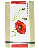 """Hand Book Journal Co. Travelogue 5 1/4"""" x 8 1/4"""" Watercolor Sketch Pad, 30 Sheets (769525)"""