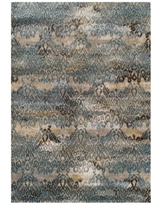 """Closeout! Dalyn Modern Abstracts Salon Teal 5'3"""" x 7'7"""" Area Rug"""