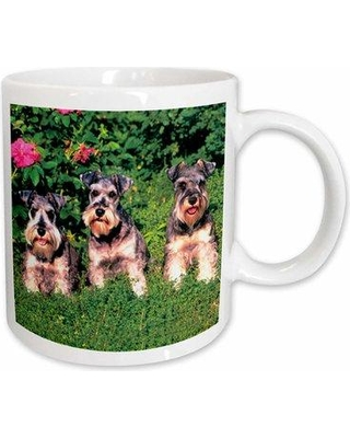 East Urban Home Schnauzer Coffee Mug W001099853