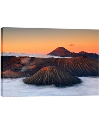 """Cortesi Home """"Jurassic"""" by Jesse Estes Photographic Print on Wrapped Canvas CH-CA132 Size: 40"""" H x 60"""" W"""