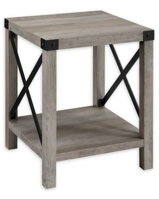 Forest Gate™ Englewood 18-Inch Square Side Table in Grey