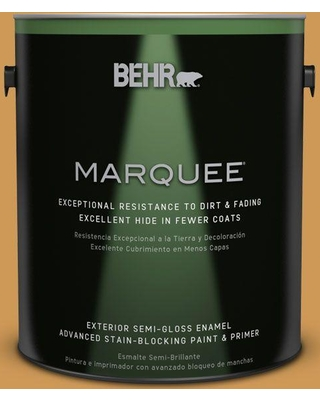 BEHR MARQUEE 1 gal. #M270-6 Glazed Pears Semi-Gloss Enamel Exterior Paint and Primer in One