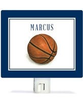 Oopsy Daisy Personalized Sports and Games Basketball Canvas Night Light NB59988