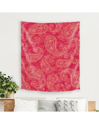 Deals For Crazy Paisley By Tracie Andrews Tapestry East Urban Home Size 104 H X 88 W X 1 D