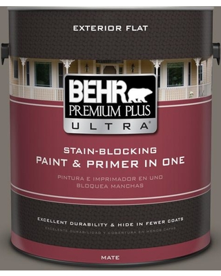 BEHR Premium Plus Ultra 1 gal. #MQ2-58 Unpredictable Hue Flat Exterior Paint and Primer in One