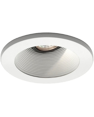 4 Inch Premium Low Voltage Step Baffle Trim - 35 Degree Adjustment from Vertical - HR-D411 by WAC Lighting