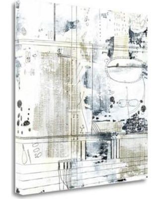 """Tangletown Fine Art 'Neutral Abstract II' Graphic Art Print on Wrapped Canvas SBSO1027-1818c Size: 18"""" H x 18"""" W"""