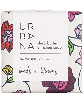 Urbana Home Collection Fragrance, Bar Soap, Buds + Blooms