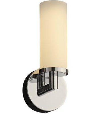 Get This Deal On Ebern Designs Middlesbrough 1 Light Led Armed Sconce Glass In Chrome Polished Chrome Size 12 H X 5 W X 5 D Wayfair