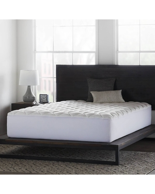 Queen Comfort Collection Overfilled Mattress Pad - Lucid