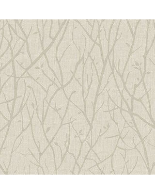 """Millwood Pines Maura Branches 33' L x 21"""" W Wallpaper Roll MIPN1133 Color: Beige"""