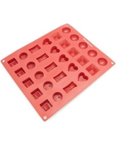 Freshware 30 Cavity Silicone Mold Pan CB-114RD