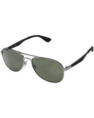 eea5b7a23145 Can't Miss Deals on Ray-Ban 0RB3549 58mm (Gunmetal/Polarized Green ...