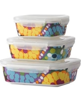 French Bull Bindi Porcelain 3 Container Food Storage Set 145PSC